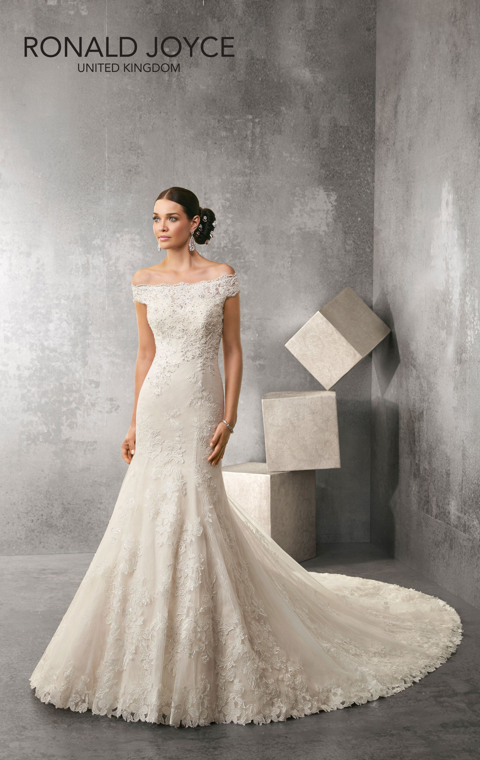 Newarrival Alert The Stunning Ainsley 69163 Ronaldjoyce Lace Bride Weddingdress Ivory Gown