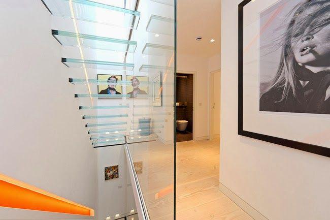 Casas Minimalistas y Modernas Escaleras Minimalistas escaleras