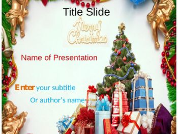 Christmas ppt template ppt template christmas themes and template attractivechristmasthemeinthebackgroundattractspeople ppt templateteacher toneelgroepblik Images
