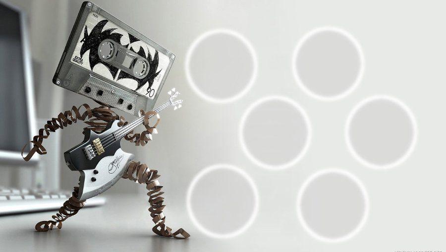 Rock Cassette Tape