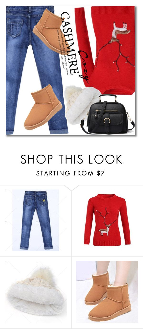"""""""Cozy Cashmere Sweaters"""" by svijetlana ❤ liked on Polyvore featuring polyvoreeditorial, cashmere and twinkledeals"""