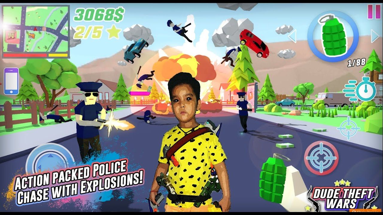 Dude Theft Wars Game In Hindi Cheat Codes Unlimited Money Mod Apk Downlo Theft Cheating Coding