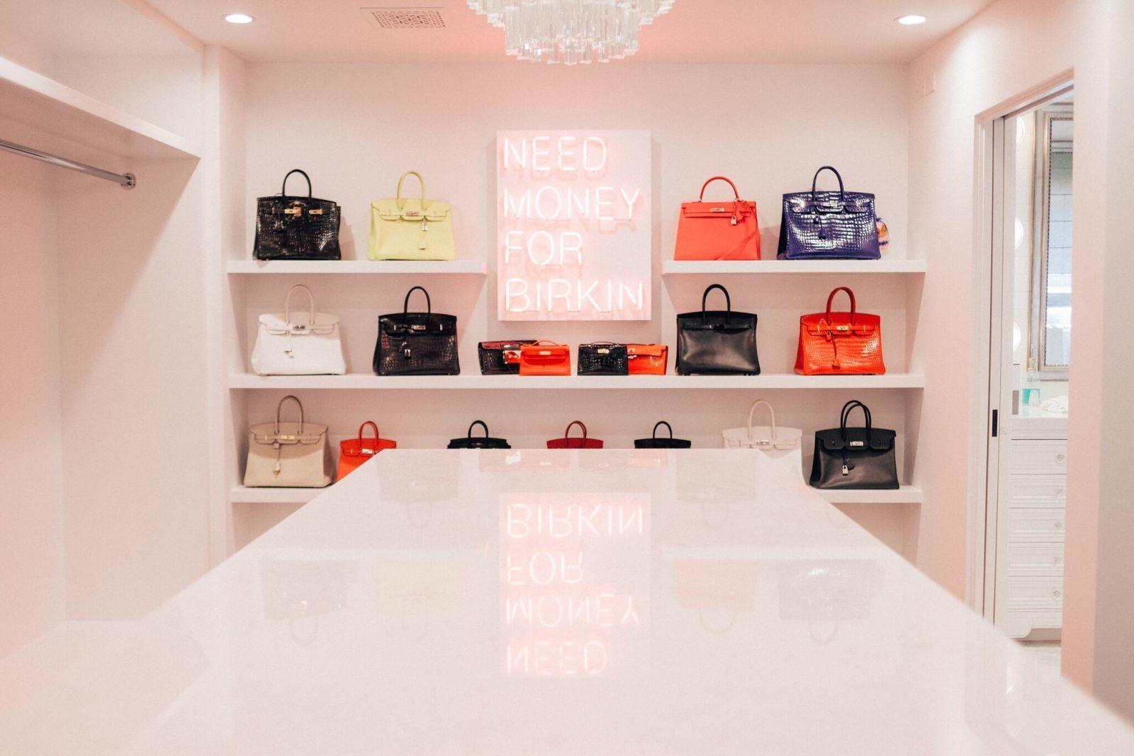 Meet The LA Artist Behind Kris Jenner\u0027s New Birkin Closet | Birkin ...