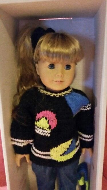 Custom Dj Tanner Doll I Made For My Daughter S Full House Birthday Party Dj Tanner American Girl Doll Decade Party