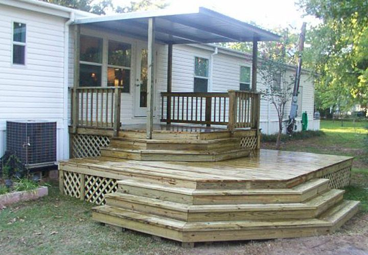 Mobile Home Back Porch Ideas | Mobile Homes Ideas
