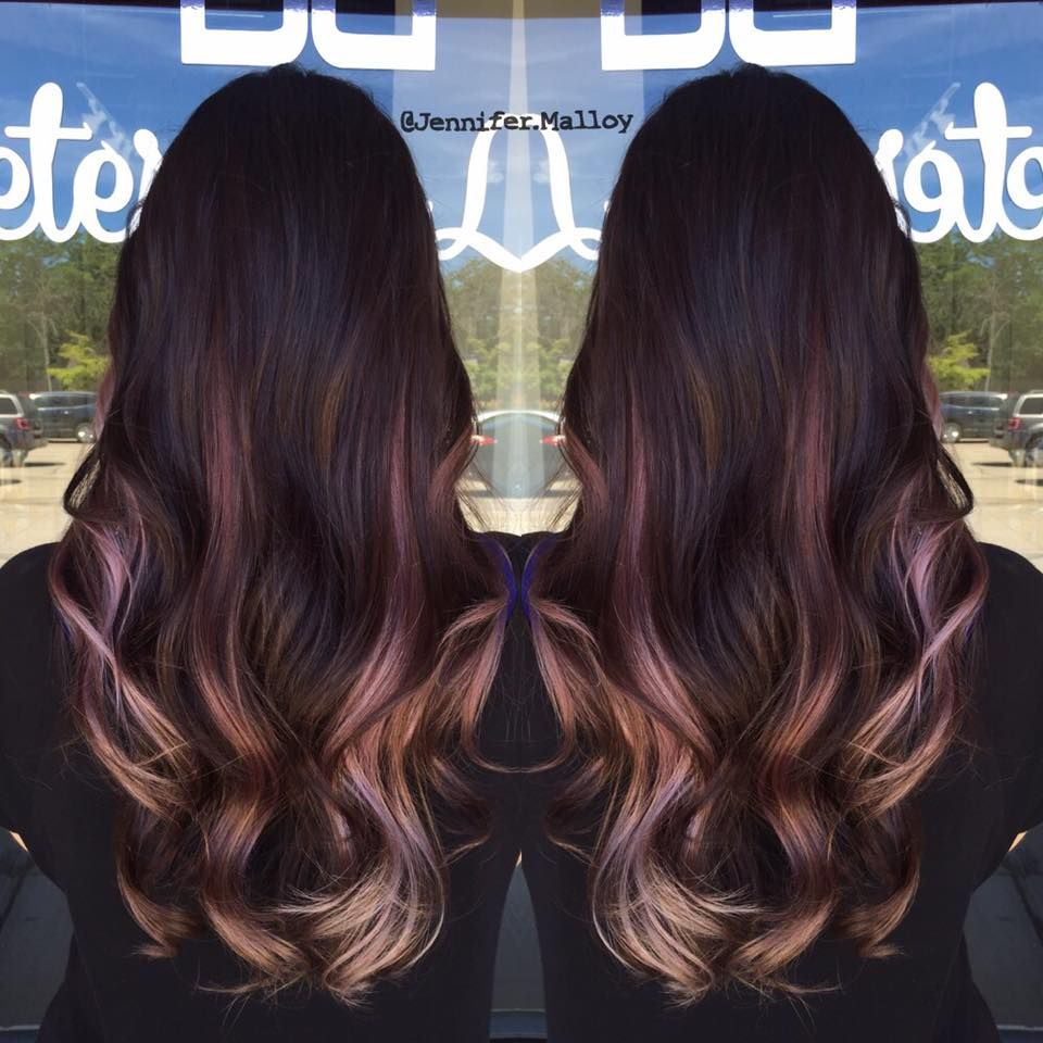 So beautiful! ombre with lilac pink blonde by