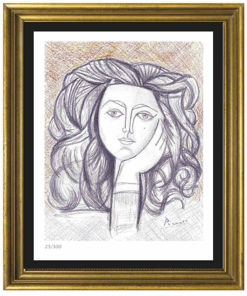 33fa049cb37 Pablo Picasso Signed Hand-Numbered