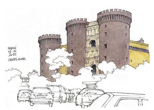 Naples, Castel nuovo | Flickr - Photo Sharing!