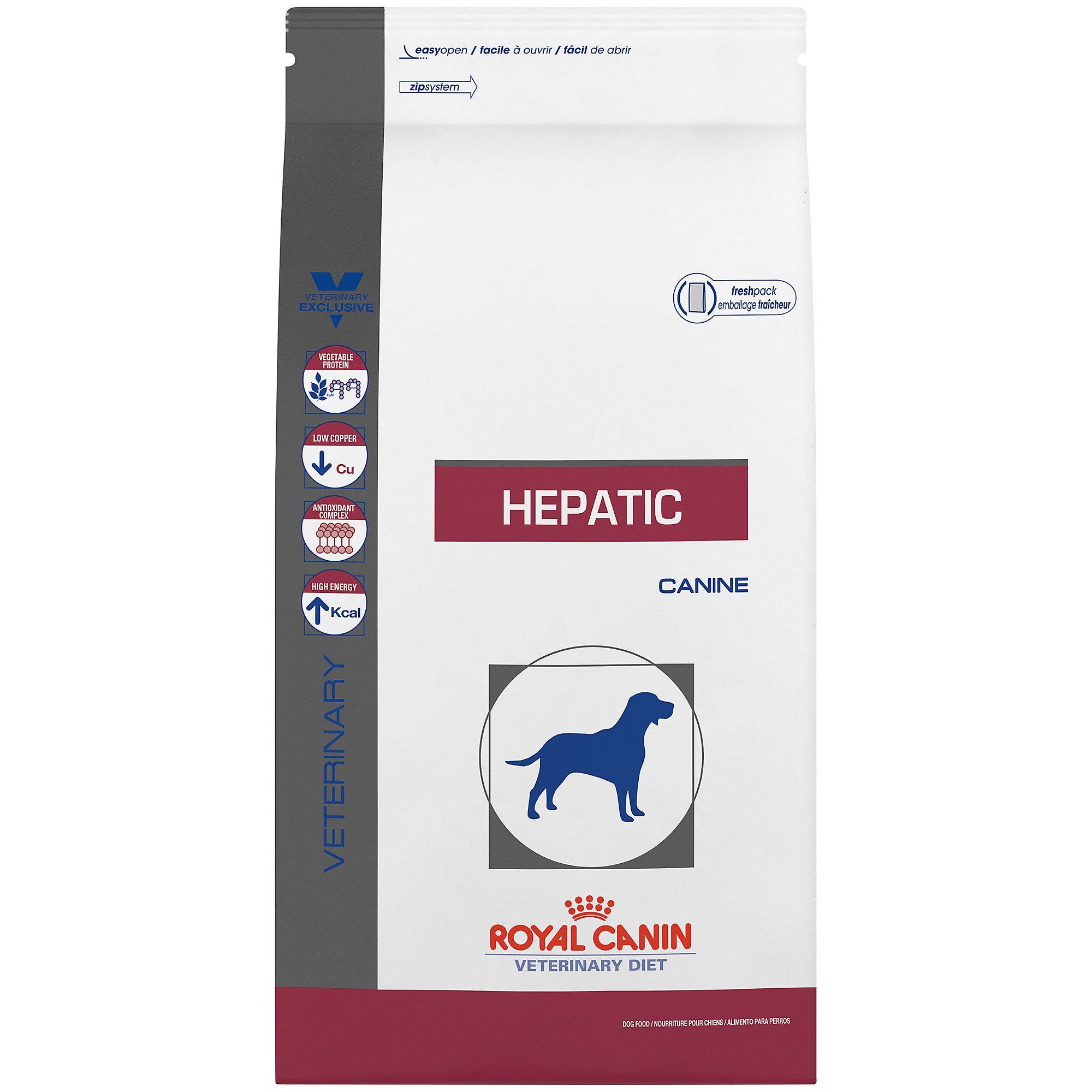 Royal Canin Veterinary Diet Canine Hepatic Dry Dog Food 7 7 Lbs