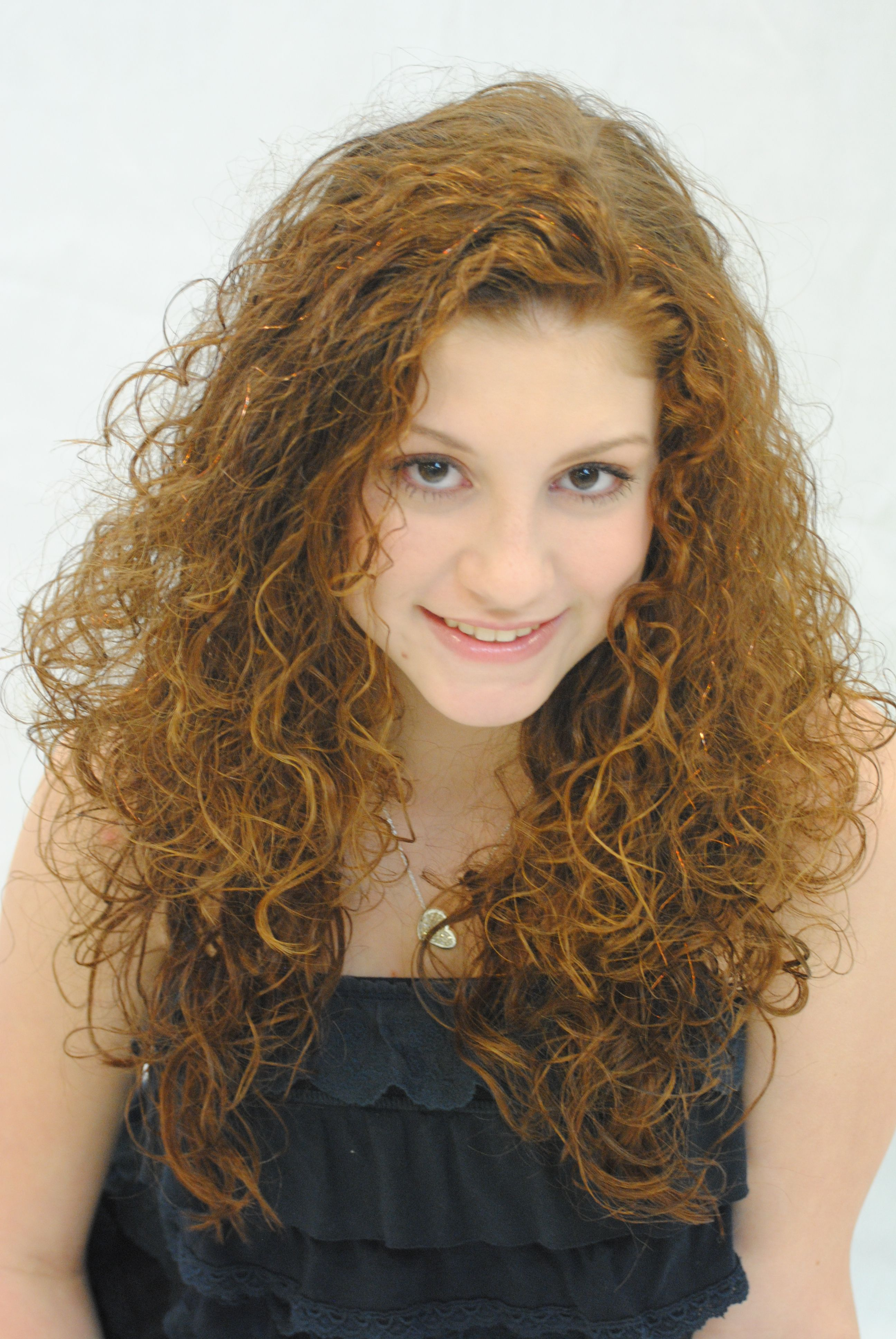 Teenage Hairstyling dj's Style Salon, Cincinnati, Ohio