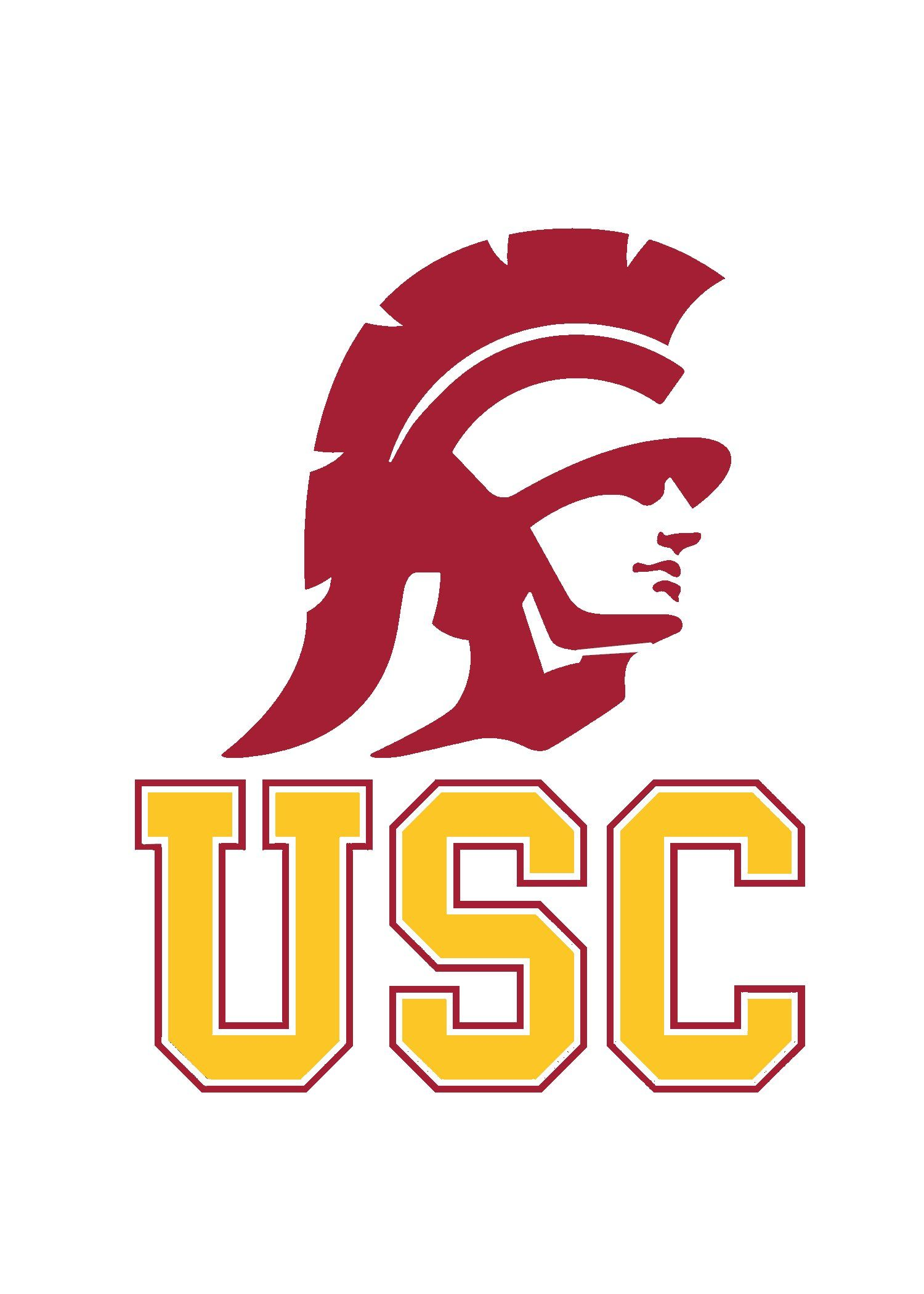 SC 3/'X5/' FLAG USC TROJANS