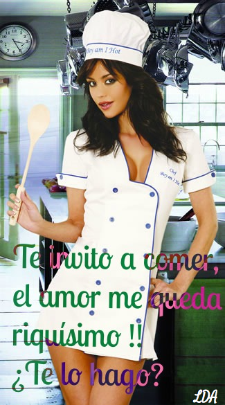 Hot Woman Chef