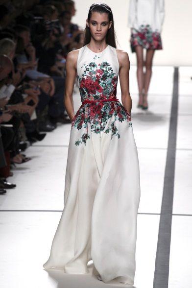 9eeeb7d59295 Sfilata Elie Saab Paris - Collezioni Primavera Estate 2014 - Vogue ...