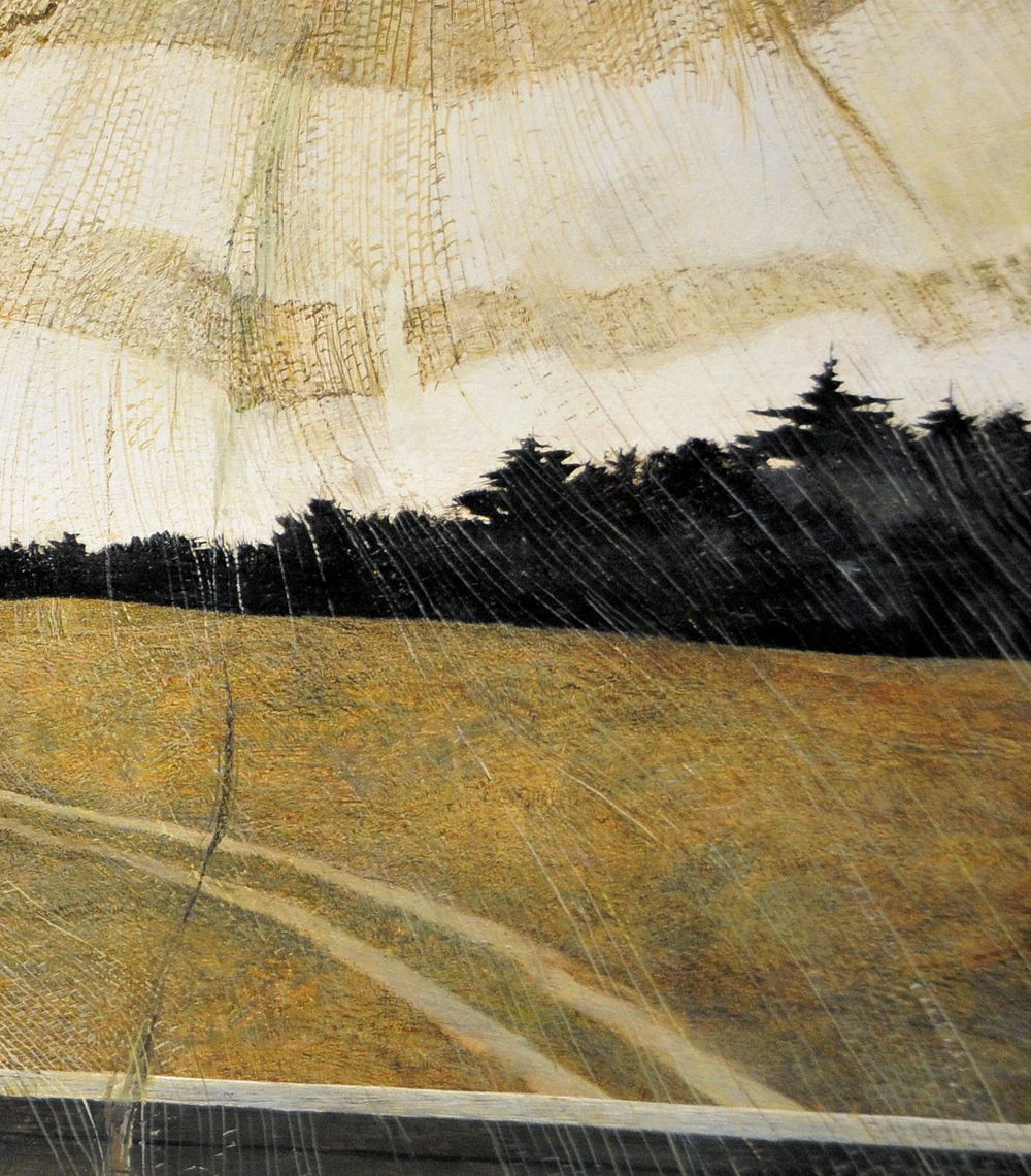 Andrew Wyeth Wind From The Sea 1947 With Images Andrew