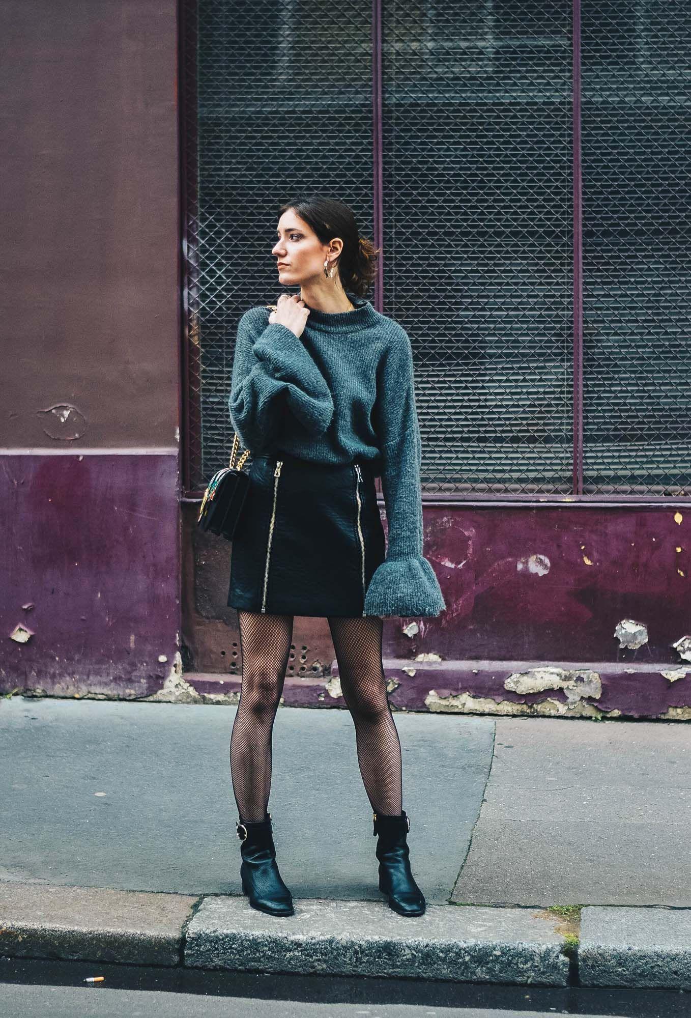Comment ne pas être vulgaire en mini jupe en cuir et bas résille ? Optez  pour