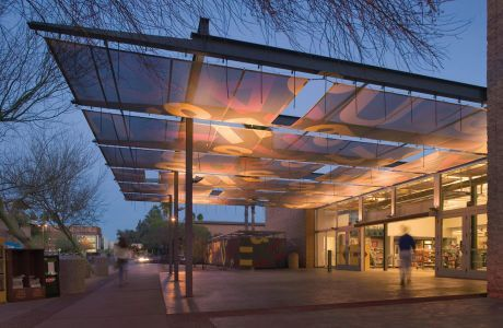Working With Architectural Firm Studio Ma In Phoenix Ariz Awnings More Used