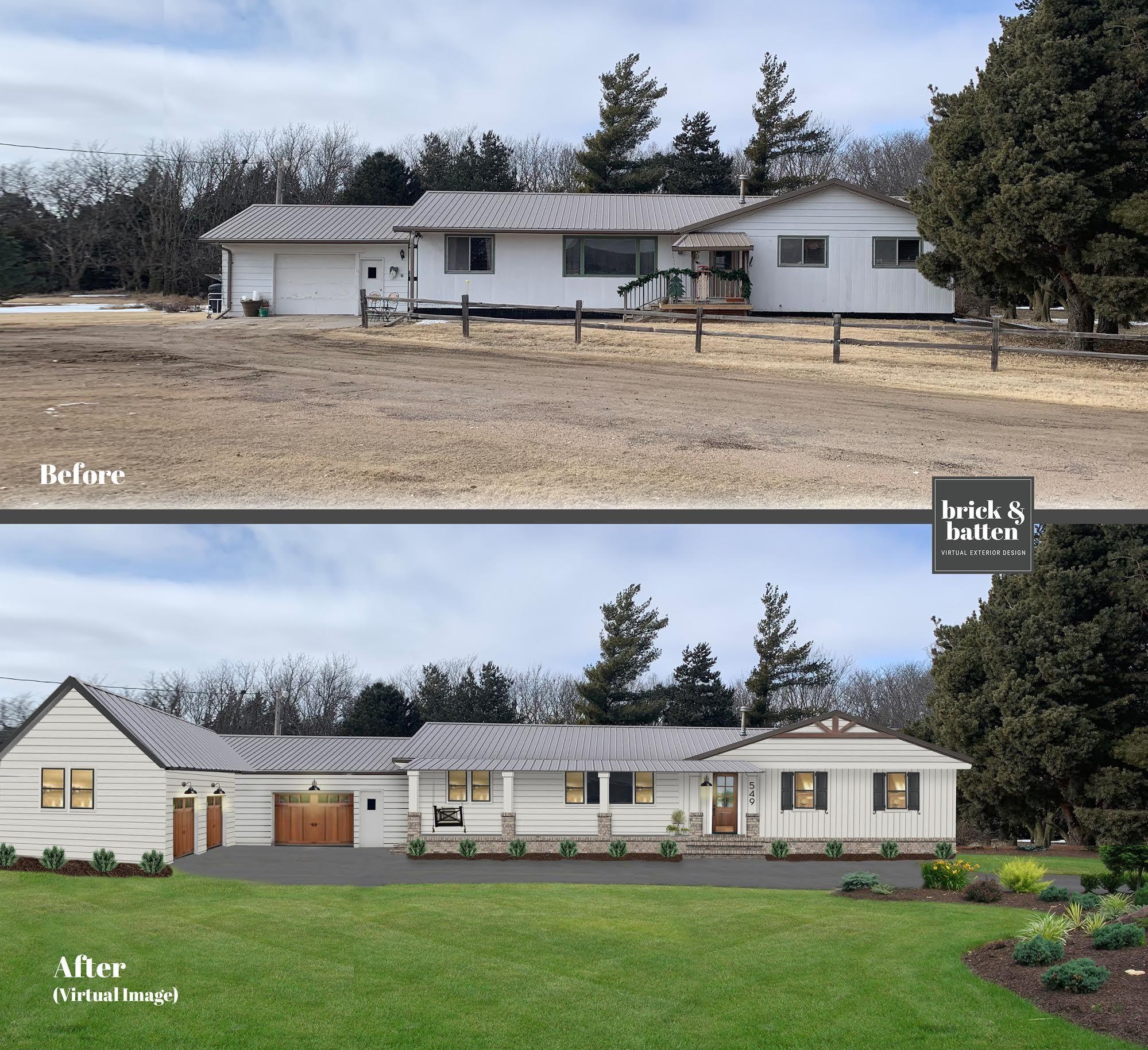 12 Tips For Home Exterior Design In 2019 Blog Brick Batten House Exterior Ranch House Exterior Exterior Design