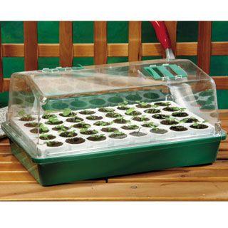 Growease seed starter kit free shipping | gardener's supply.