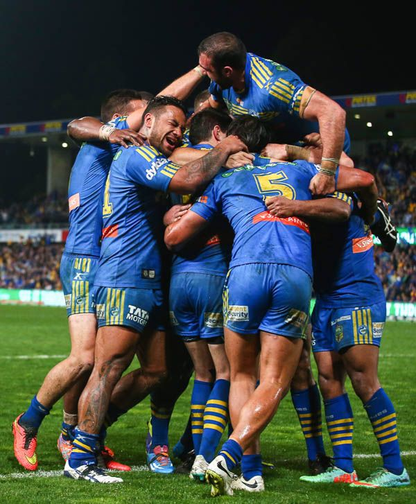 Eels Upstage Sea Eagles To Keep Finals Hopes Alive Hot Rugby Players Rugby League Rugby Men