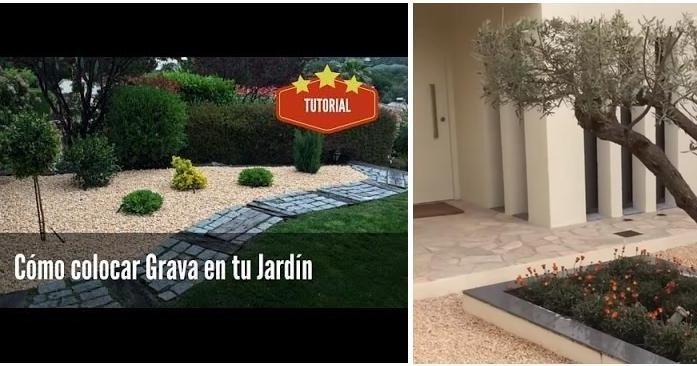 ¿Quieres colocar gravilla en tu jardín? ¡Te decimos cómo paso a paso!