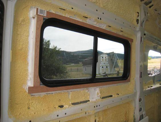 ProMaster DIY Camper Van Conversion Adding Windows