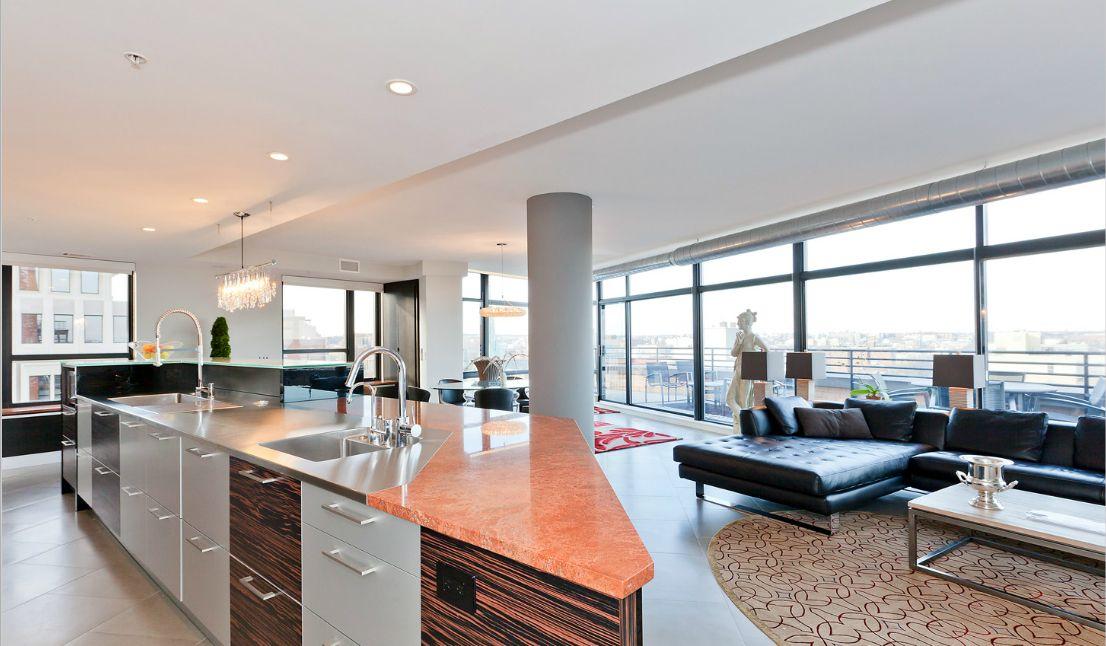 1010 Mass Kitchen Jpg 1106 646 Condominium Luxury Condo Home