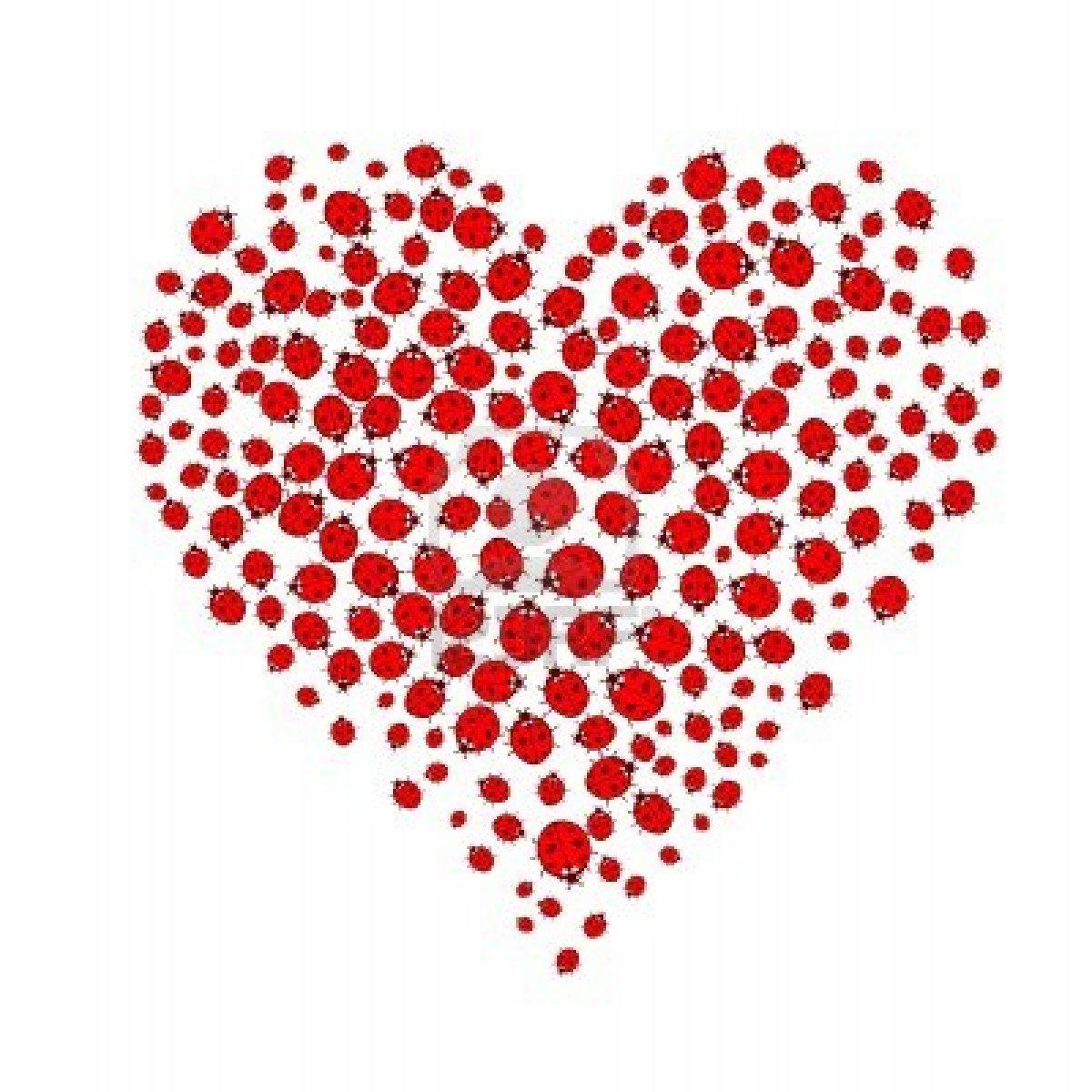 Ladybugs Forming Heart Shape On White Background Ladybug Heart Frame Buy Ladybugs