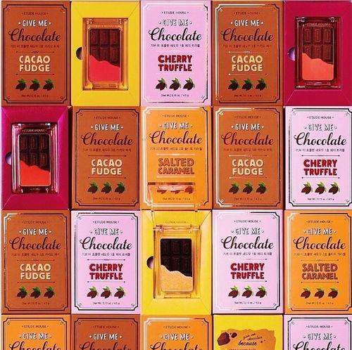 Le fard à paupière «Give me Chocolate»