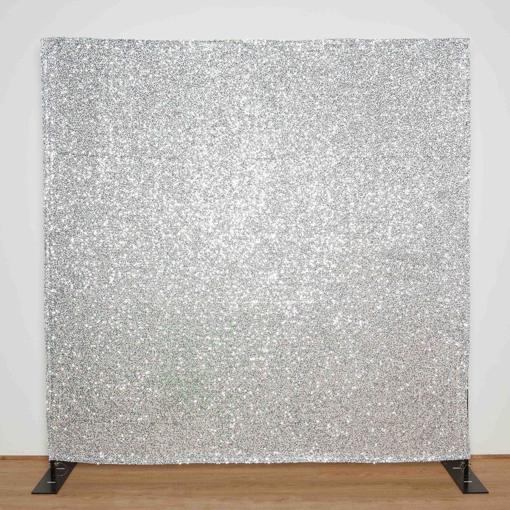Silver Sequin backdrop for photo booth, wedding, bar mitzvah ...