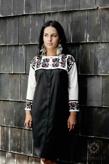 Ukrainian folk beauty.