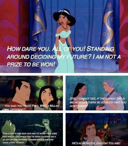 Strong Disney women