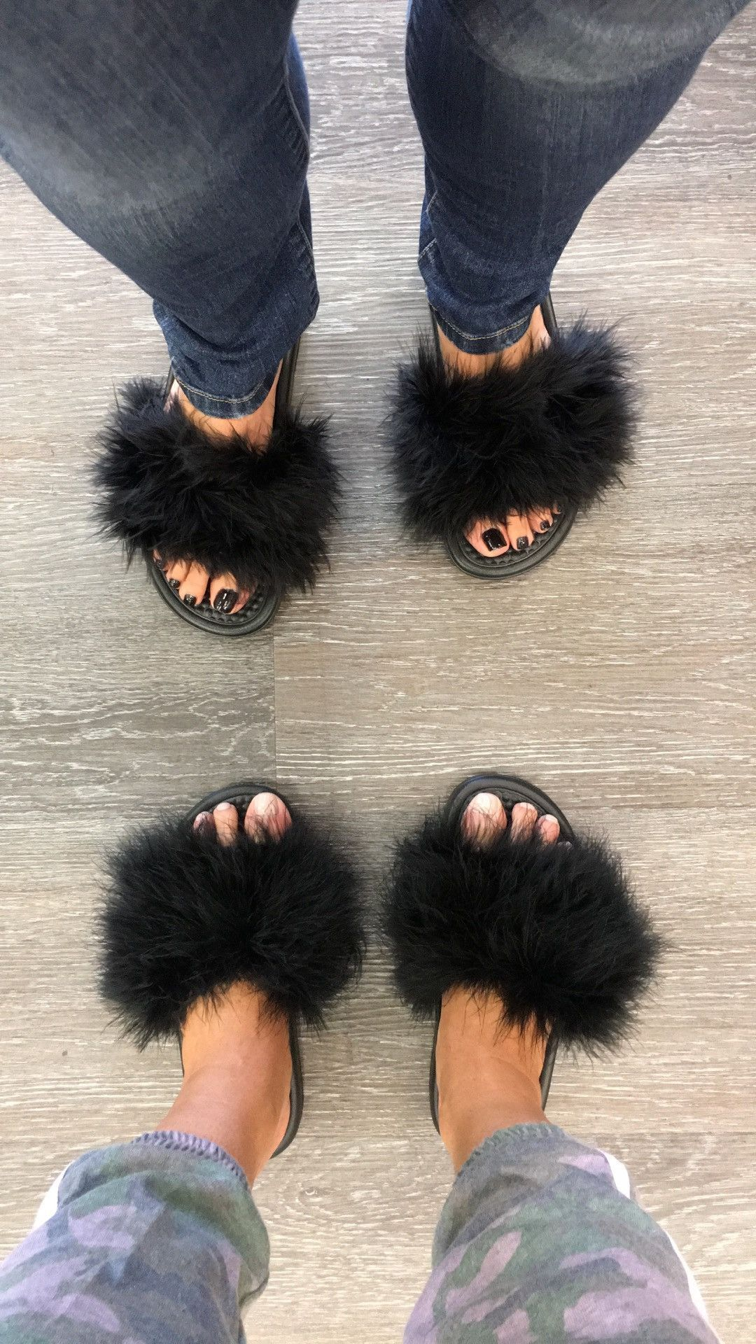 c1866a455b7b6 These furry slides are hottest trend around! These are custom ordered