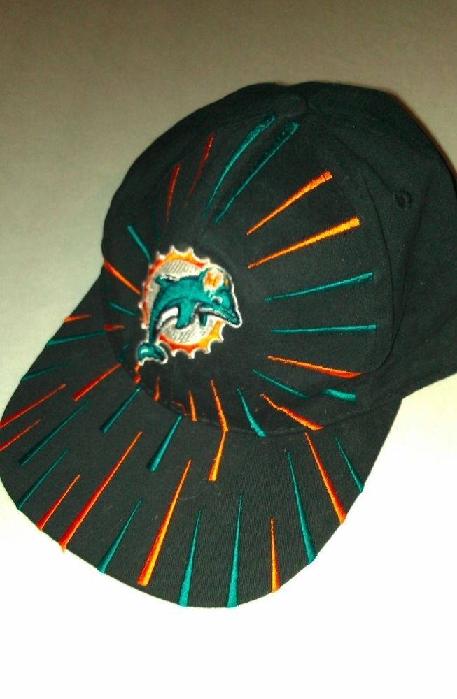 MiamiDolphins Snapback Hat One Size Vintage  NFL Game Day Black FREE USA  SHIP http   www.ebay.com itm - 301436240059 roken cUgayN soutkn UCkwWw   miami ... fed66196255
