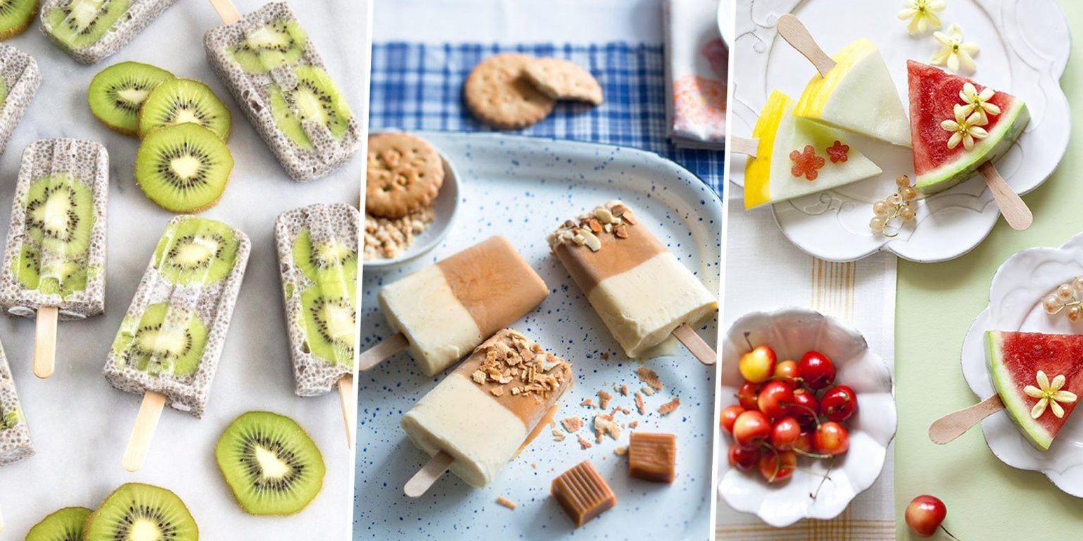 20 recettes de glaces faciles à faire
