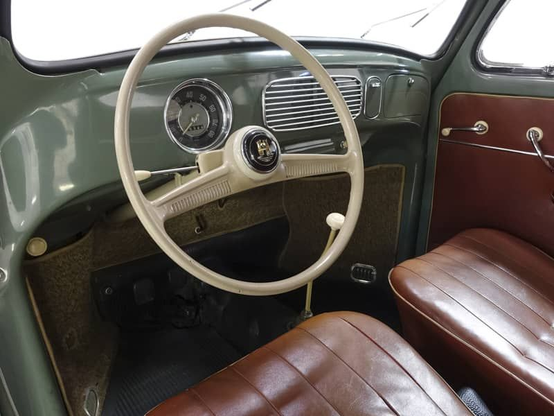 1957 Volkswagen Oval Window Beetle for sale Original Interior – Daniel Schmitt &…