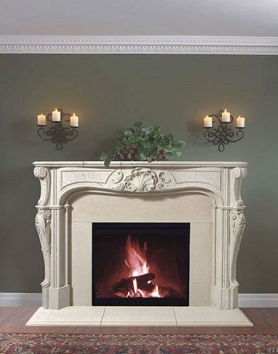 Pin By Kayce Geer On Fireplaces Cast Stone Fireplace Stone Fireplace Mantel Fireplace Mantels