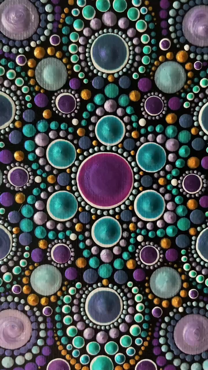 Check out the YouTube video of this beautiful mandala being made.