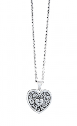 Swirled Heart Necklace