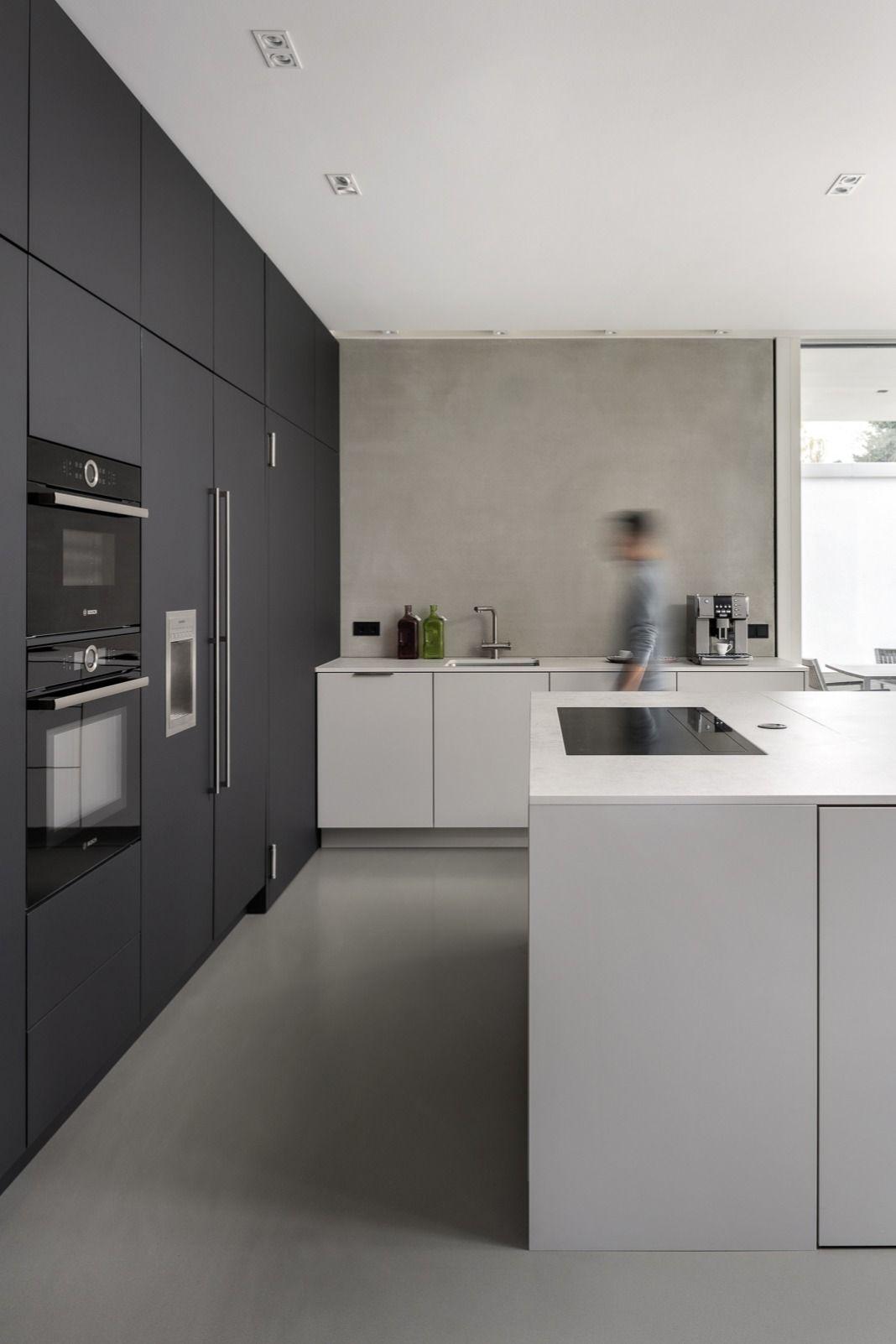Resin Floor Kitchen In 2020 Kitchen Room Design Kitchen Flooring Kitchen Design