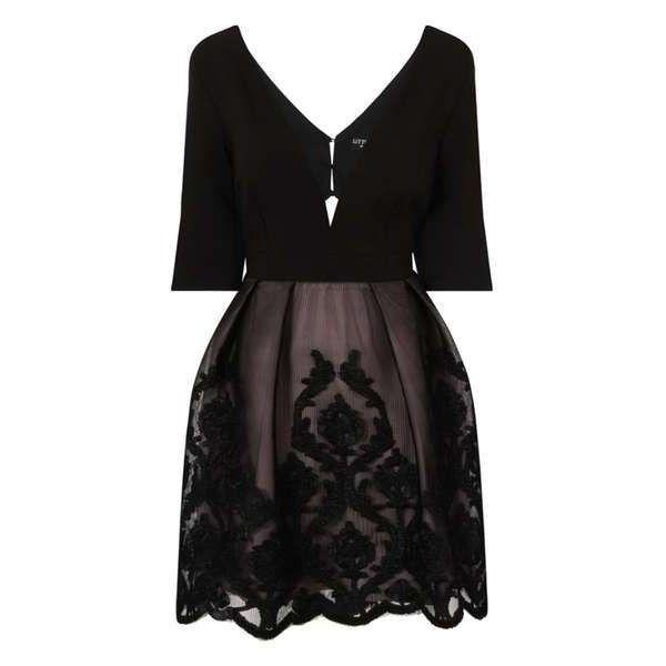 **Little Mistress Mini Dress - View All Dresses - Dresses - Dorothy... ($92) ❤ liked on Polyvore featuring dresses, mini dress and short dresses