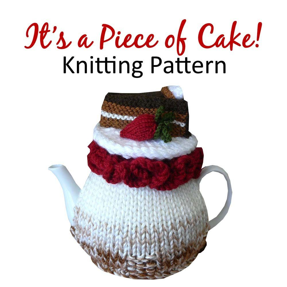 Its a piece of cake tea cosy knitting pattern crochet tea cosy knitting pattern bankloansurffo Choice Image