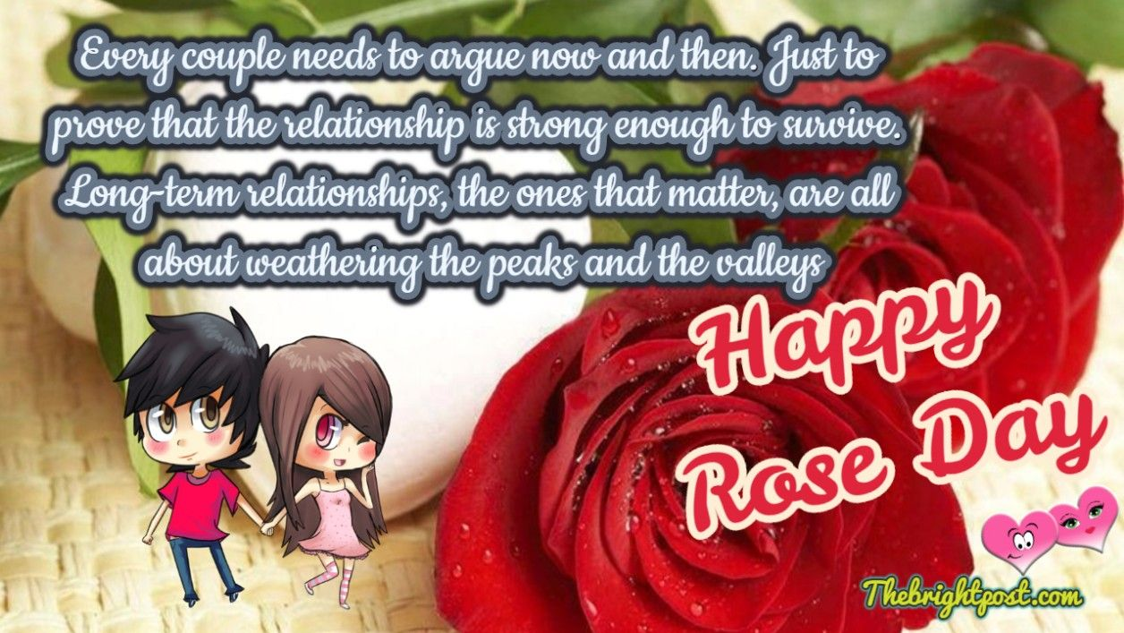 Free Download Romantic Rose Day Cards Day Wishes Rose Happy Quotes Couple romantic rose day images for