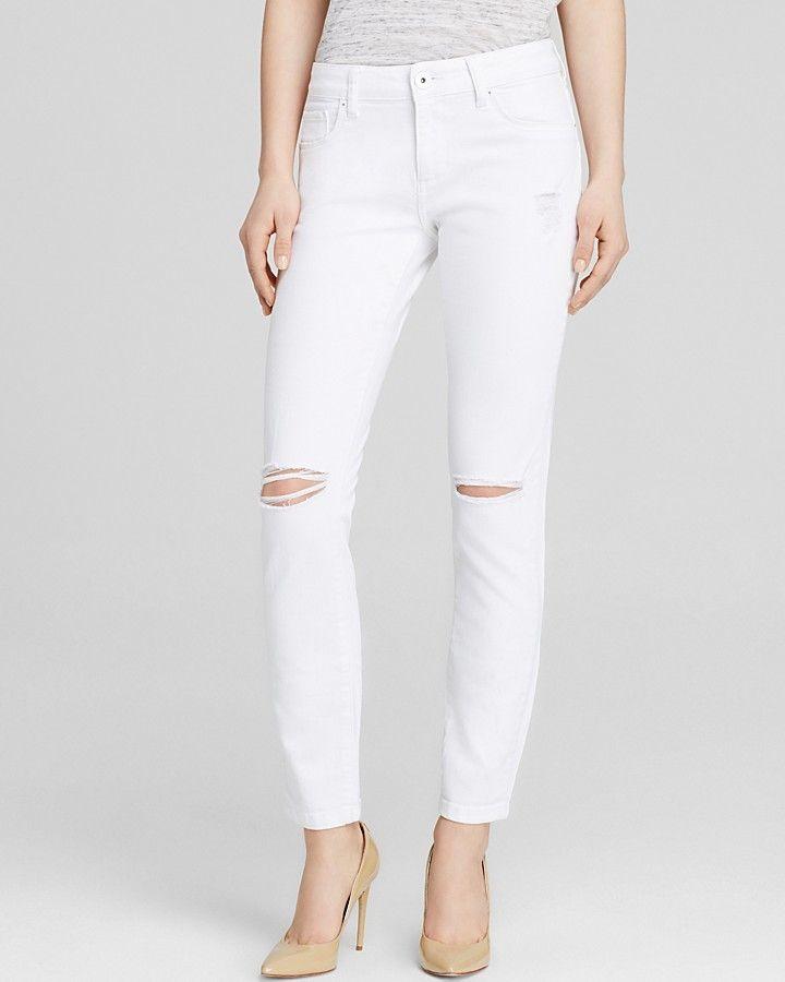 DL1961 Jeans - Azalea Relaxed Straight in Mercury