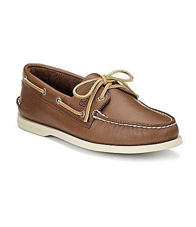 SPERRY Authentic Original 2-Eye Boat Shoes - Tan - Men's Loafers & Boat Shoes