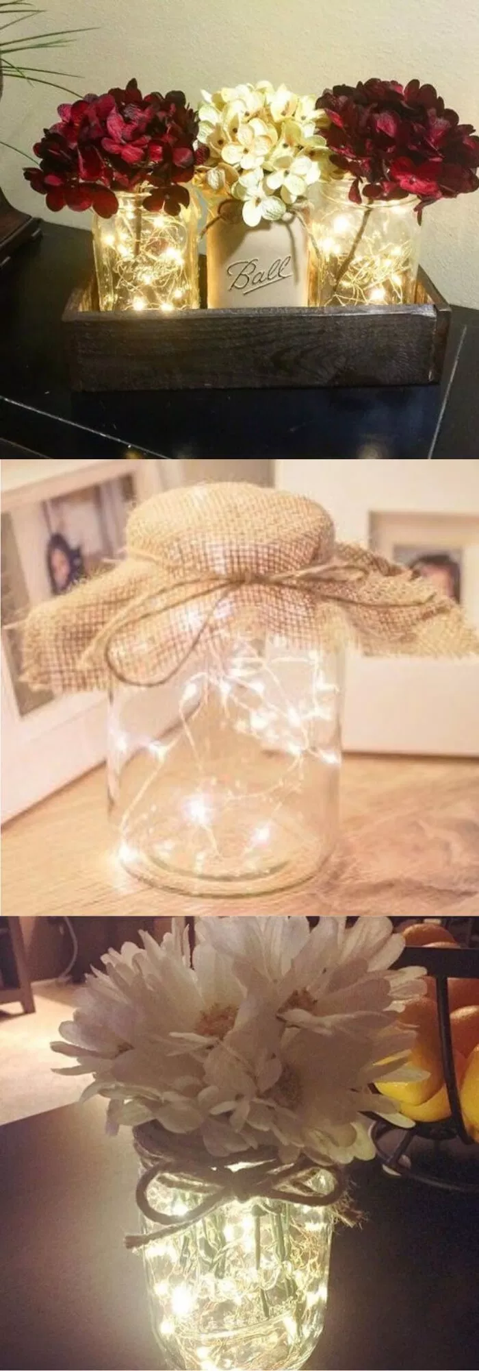 26+ Awesome DIY Fairy Light Decor Ideas For Your House For 2019 images