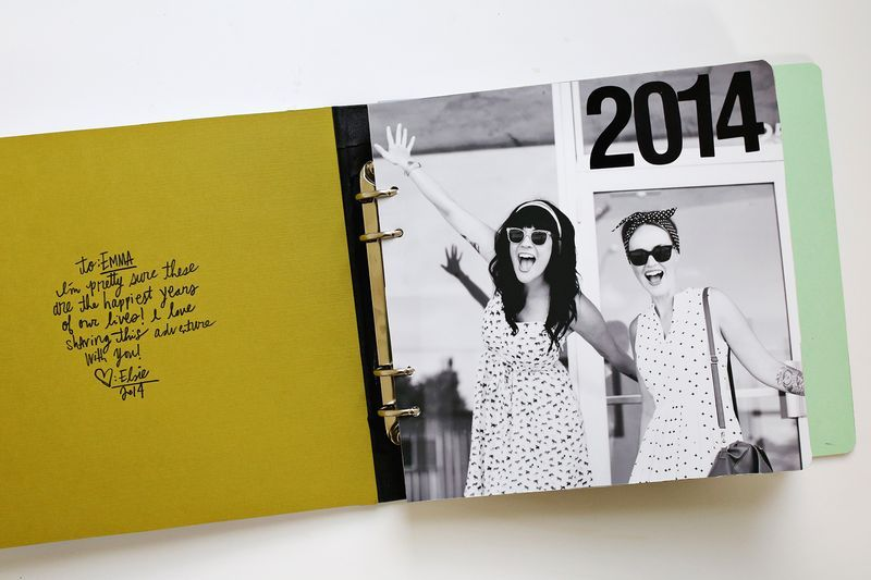 A Fun Gift Idea Sister Photo Book Click Through For DIY Details Via Beautiful Mess