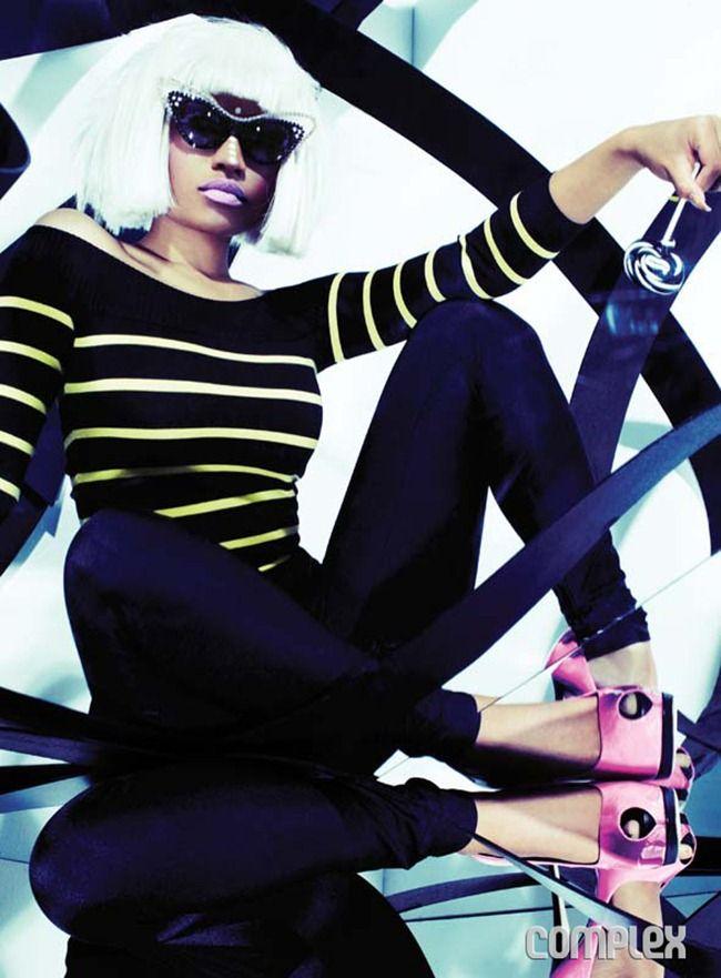 82bfde6d6438 COMPLEX MAGAZINE Nicki Minaj by Christian Anwander. www.imageamplified.com