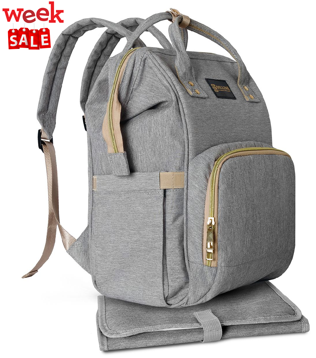 20 Diaper Bag Backpack Multi Function Waterproof Travel Maternity Ny Organizer With