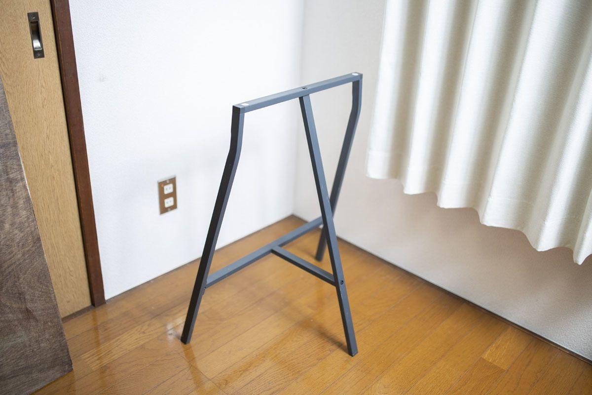 イケアの なんでもテーブルにできる脚 便利すぎて3セット持ってる