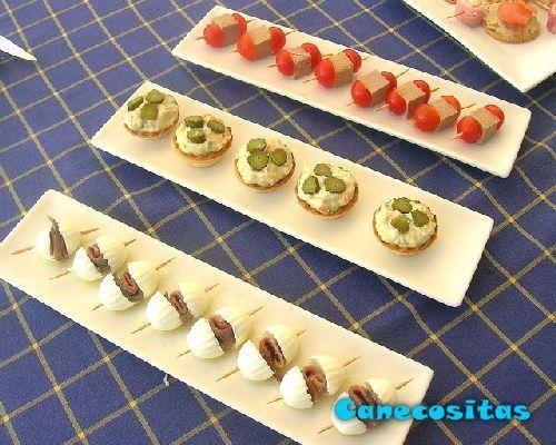 pinchos navidenos salados